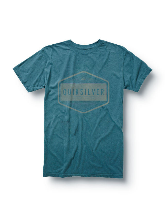 Quiksilver Centuries Slim Fit T-Shirt - Blue - Mens T-Shirt