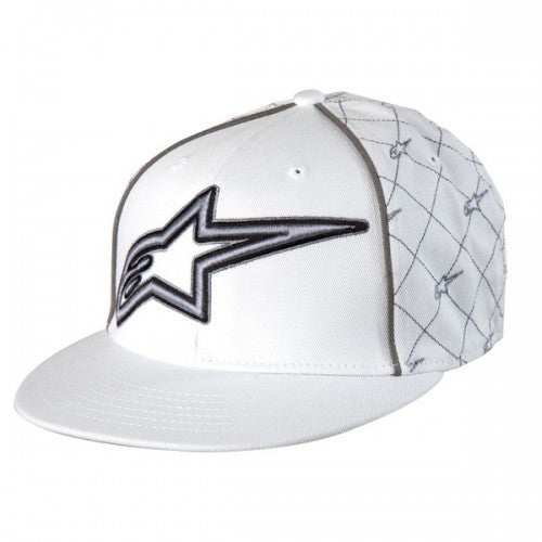 Alpinestars Boxtopper 210 Hat - White - Mens Hat