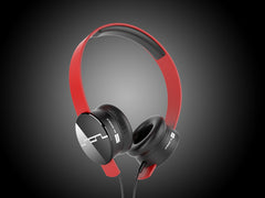 SOL Republic Tracks Headphones - Red