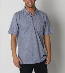 O'Neill Fathom Polo - Blue - Mens T-Shirt