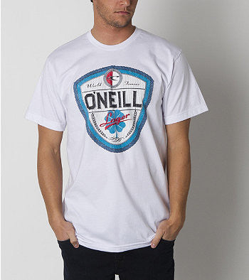 O'Neill Dublin T-Shirt - White - Mens T-Shirt