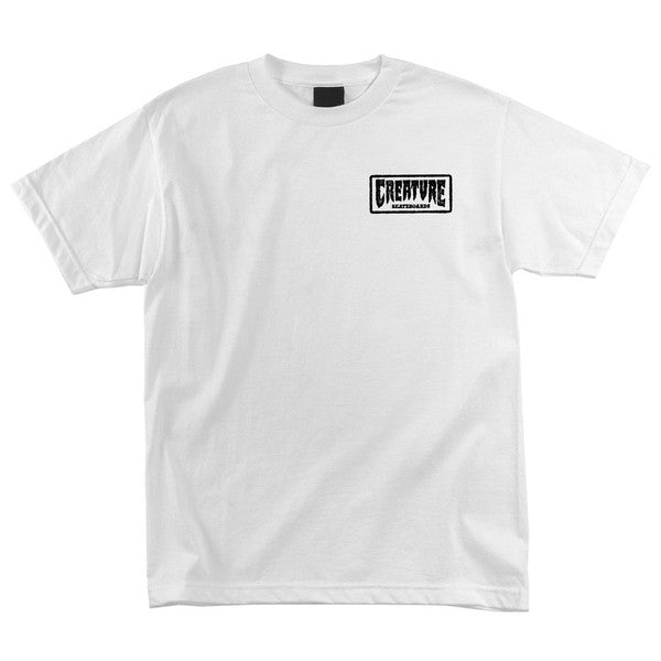 Creature Ride or Die Regular S/S - White - T-Shirt