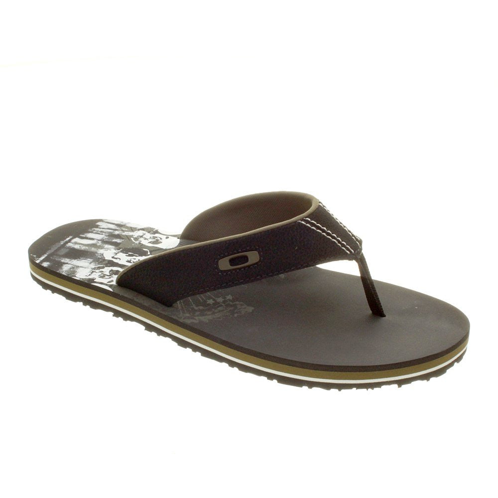 Oakley O Strap Men's Sandals - Black/Olive Green