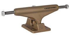 Independent 129 Stage 10 Metal Series Aged Gold Standard Skateboard Trucks - Aged Gold - 127mm (Set of 2)
