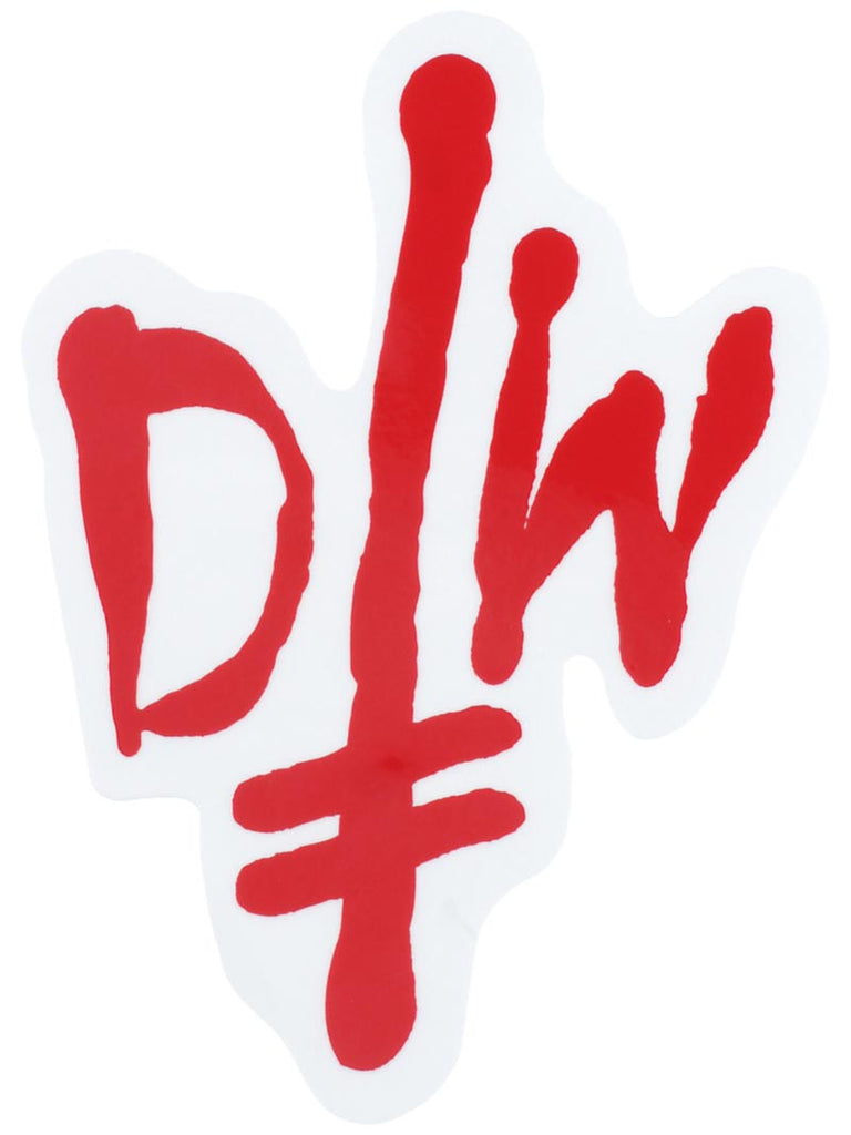 Deathwish DW Street Spray Stickers - 6in - Assorted Colors
