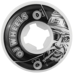 OJ Al Deez Team Skateboard Wheels 50mm 99a - White (Set of 4)