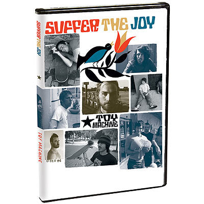 Toy Machine Team Suffer The Joy DVD