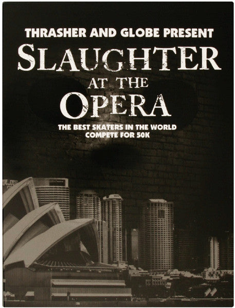 Globe Slaughter at the Opera DVD