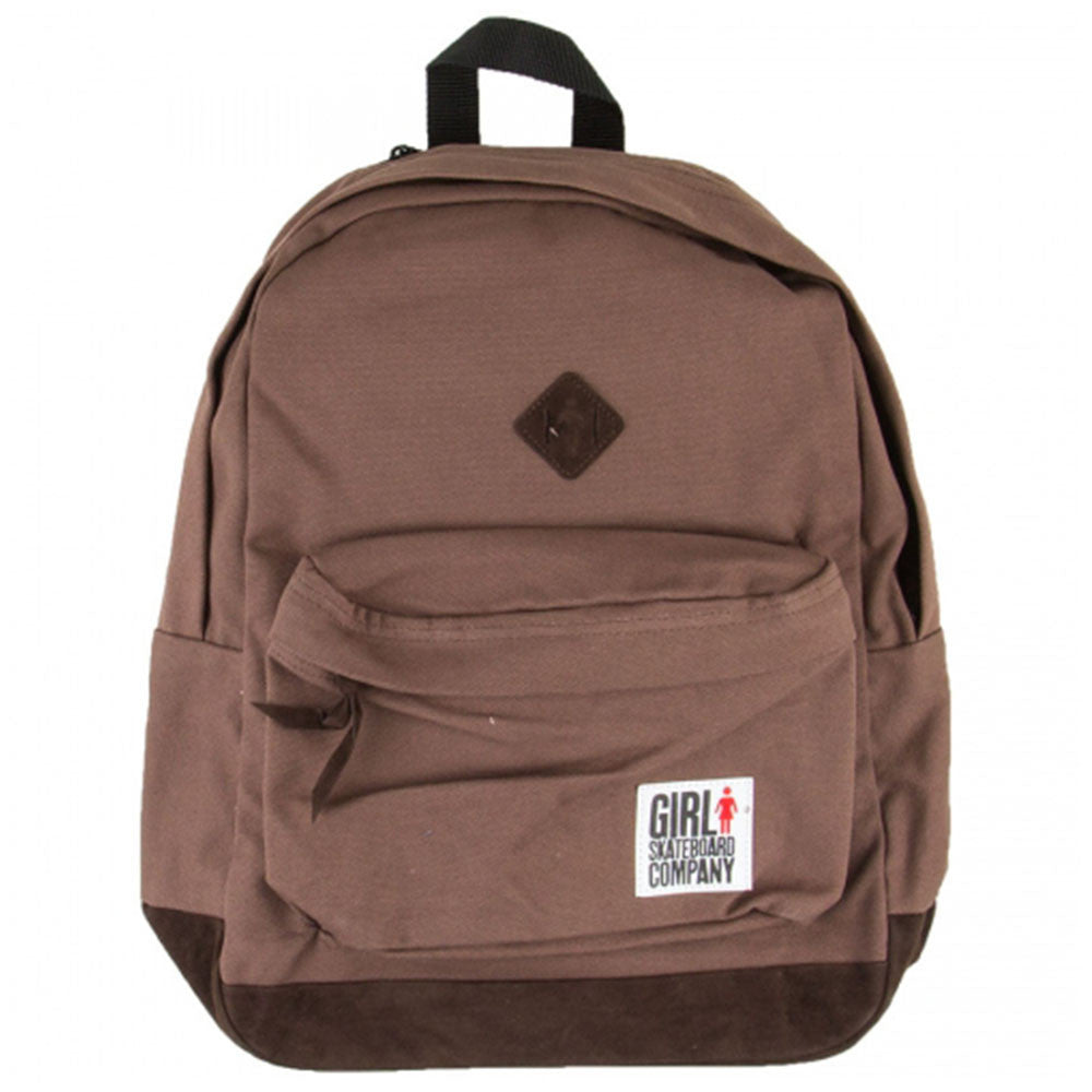 Girl Simple Backpack - Brown