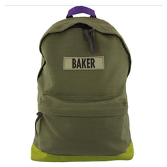 Baker Infantry Backpack - Green