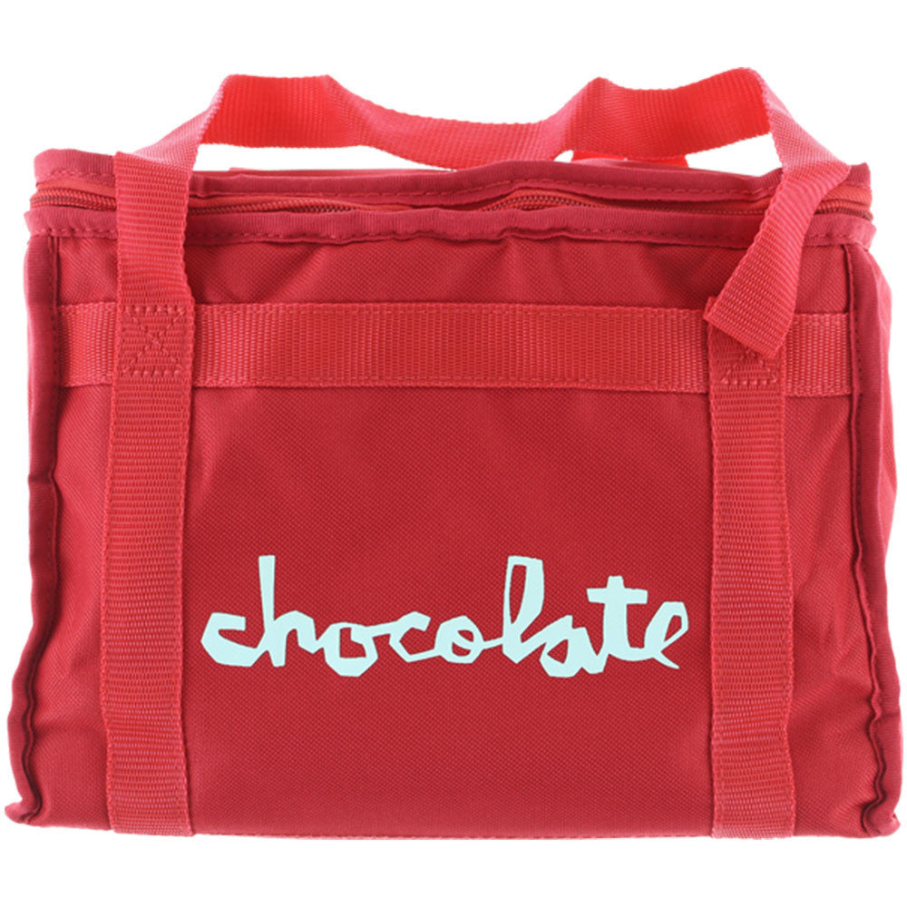 Chocolate Chunk Cooler Bag Backpack - Red