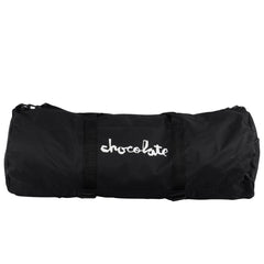 Chocolate Chunk Skate Carrier Duffel Bag Backpack - Black
