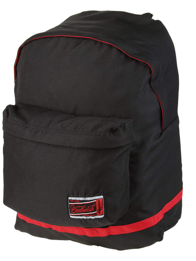 Deathwish Standard Backpack - Black/Red