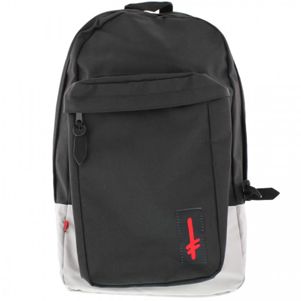 Deathwish Lucifer Backpack - Black/Grey