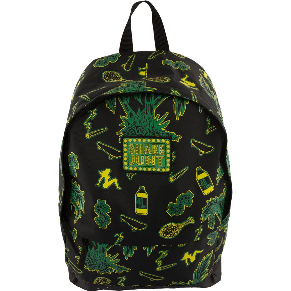 Shake Junt Casual Fridays Backpack - Black/Green