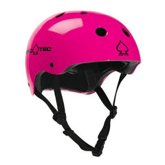 Pro-Tec The Classic  Skateboard Helmet - Gloss Punk Pink
