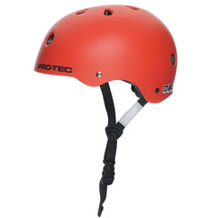 Pro-Tec Classic Street Skateboard Helmet - Blood Orange