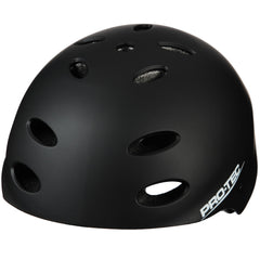 Pro-Tec Ace Rubber Skateboard Helmet - Black