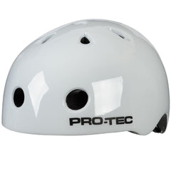 Pro-Tec City Lite Skateboard Helmet - Gloss White