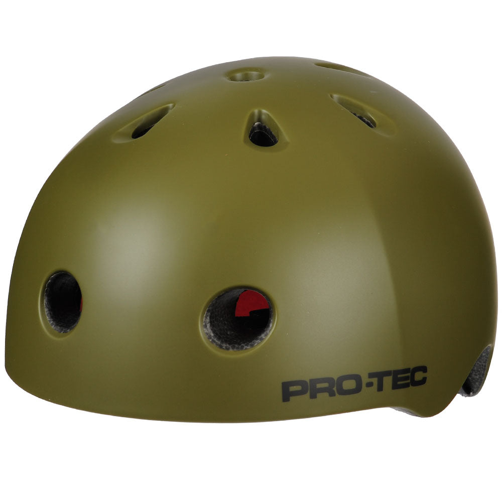 Pro-Tec City Lite Skateboard Helmet - Satin Army Green