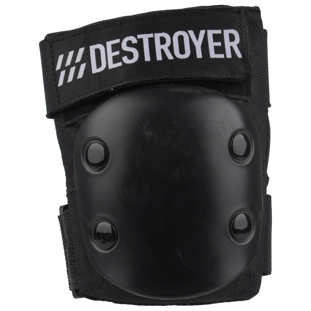 Destroyer Rec Elbow Pads - Black - Small