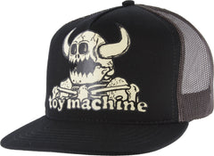 Toy Machine Dead Monster Mesh Men's Trucker Hat - Black/Brown