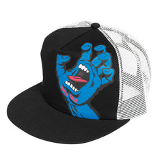 Santa Cruz Screaming Hand Trucker Hat - Black/White