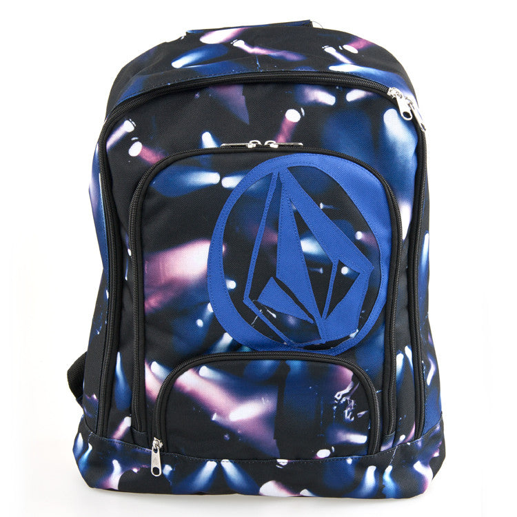 Volcom Schooly V Backpack - Party Monster Blue