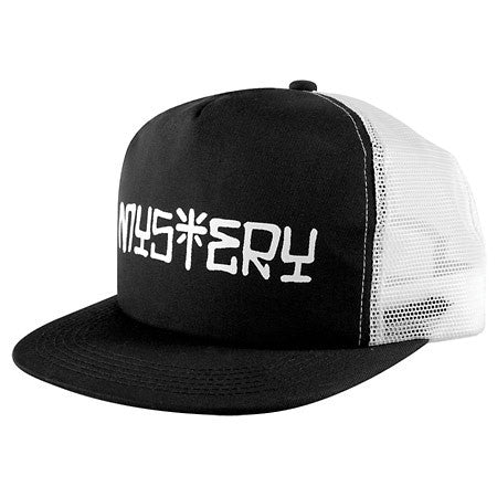 Mystery Vato Mesh Hat - Black/White