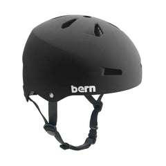 Bern Macon Hardhat Thin Shell CPSC Helmet - Matte Black - Medium