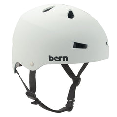 Bern Macon Hardhat Brock Foam Helmet - Matte White - Small