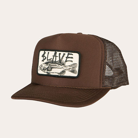 Slave Bass Destruction Mesh Trucker Hat - Brown