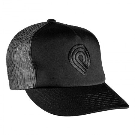 Powell Triple P Logo Men's Trucker Hat - Black