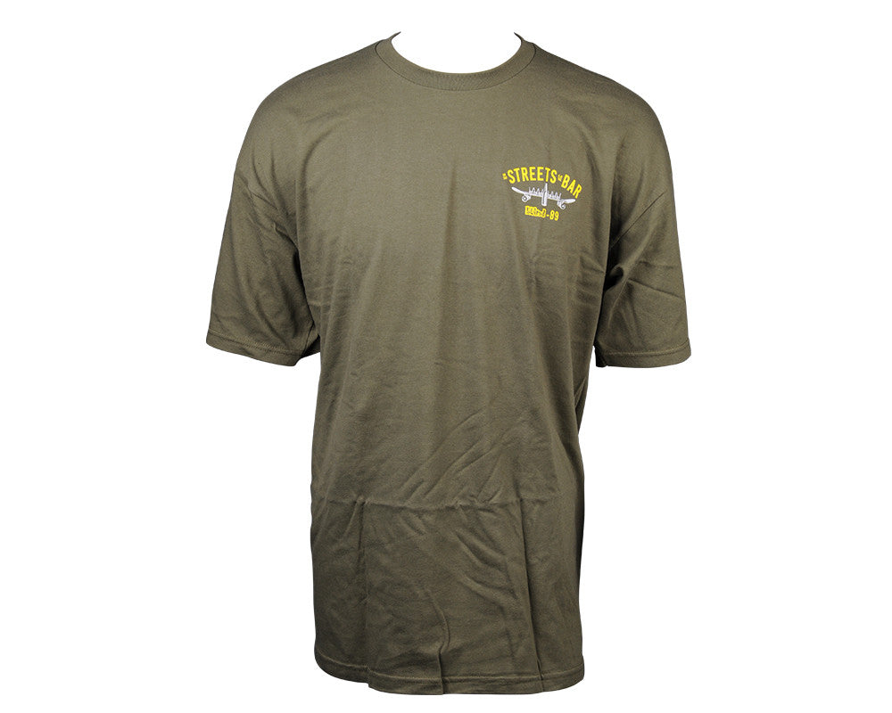 Blind Naval Logo S/S Mens T-Shirt - Military Green