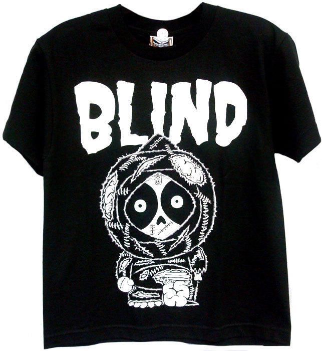 Bind Zombie S/S Youth T-Shirt - Black/White