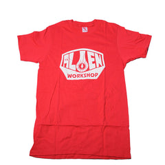 Alien Workshop OG Logo Men's T-Shirt- Red - Small