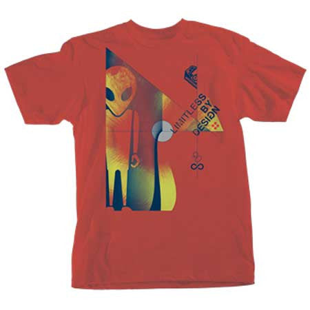 Alien Workshop Solar Soldier Men's T-Shirt - Red
