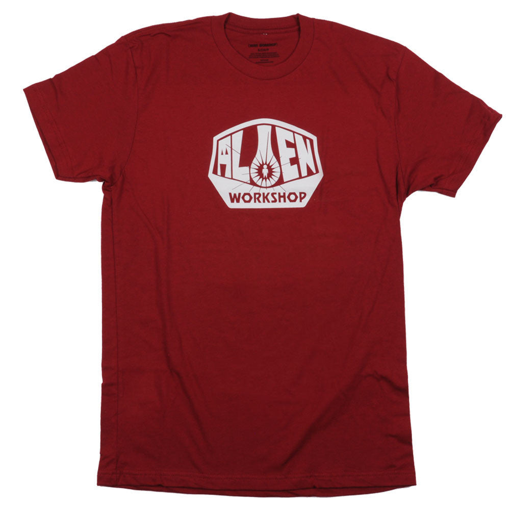 Alien Workshop OG Logo Short Sleeve Men's T-Shirt - Cardinal