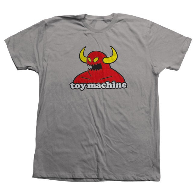Toy Machine Monster - Silver - Men's T-Shirt