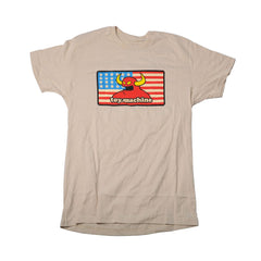 Toy Machine American Monster - Sand - Men's T-Shirt