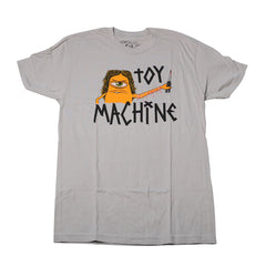 Toy Machine Sect Cutter - Grey - Men's T-Shirt