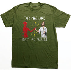 Toy Machine Bury The Hatchet II Men's T-Shirt - Army