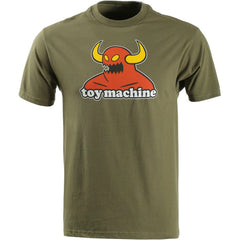 Toy Machine Monster Men's T-Shirt - Military