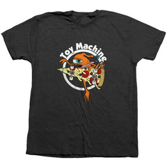 Toy Machine Pizza Sect Men's T-Shirt - Black