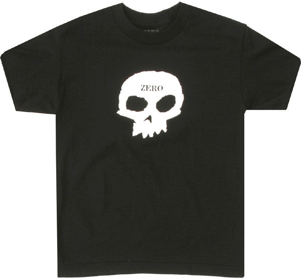 Zero Skull S/S Mens T-Shirt - Black