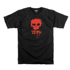 Zero Blood Skull Premium S/S Mens T-Shirt - Black - Small