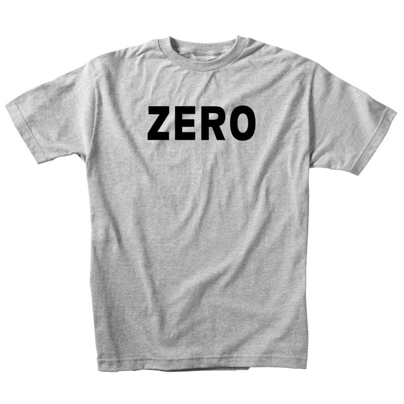 Zero Army S/S - Heather Grey/Black - Men's T-Shirt