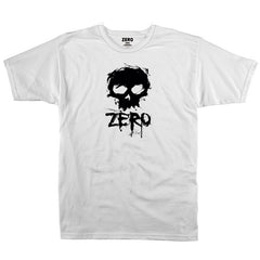 Zero Blood Skull S/S - White/Black - Men's T-Shirt