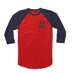 Zero Numero Jersey - Red/Navy - Men's T-Shirt