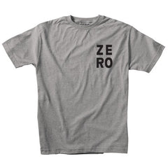 Zero Numero S/S - Grey/Black - Men's T-Shirt